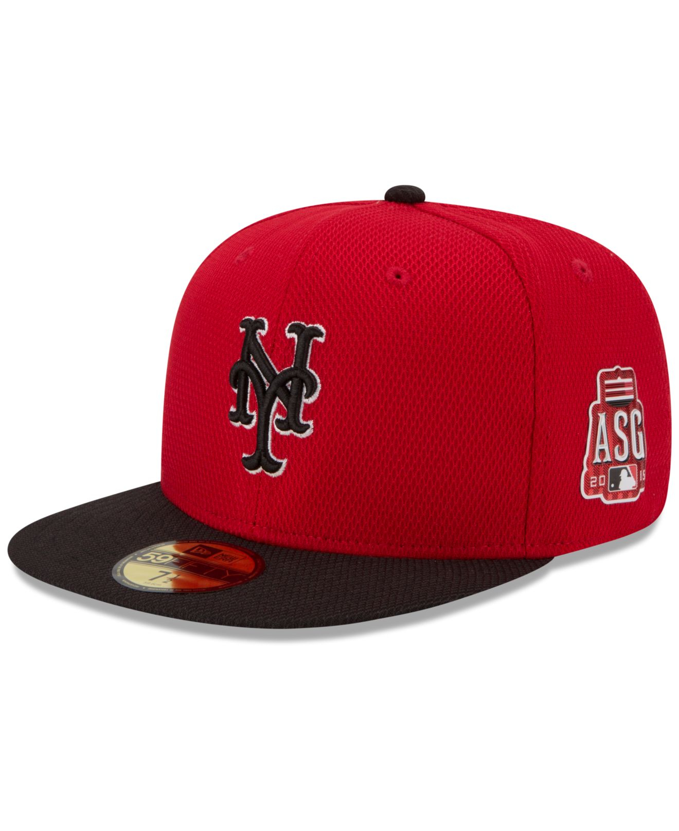 Lyst - KTZ New York Mets 2015 Home Run Derby 59Fifty Cap in Red for Men 129bbab5a1c