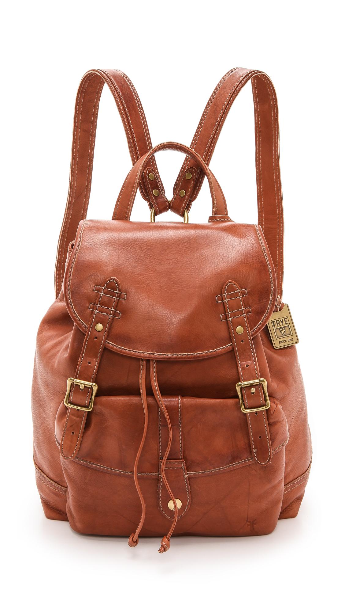 Lyst Frye Campus Backpack In Brown