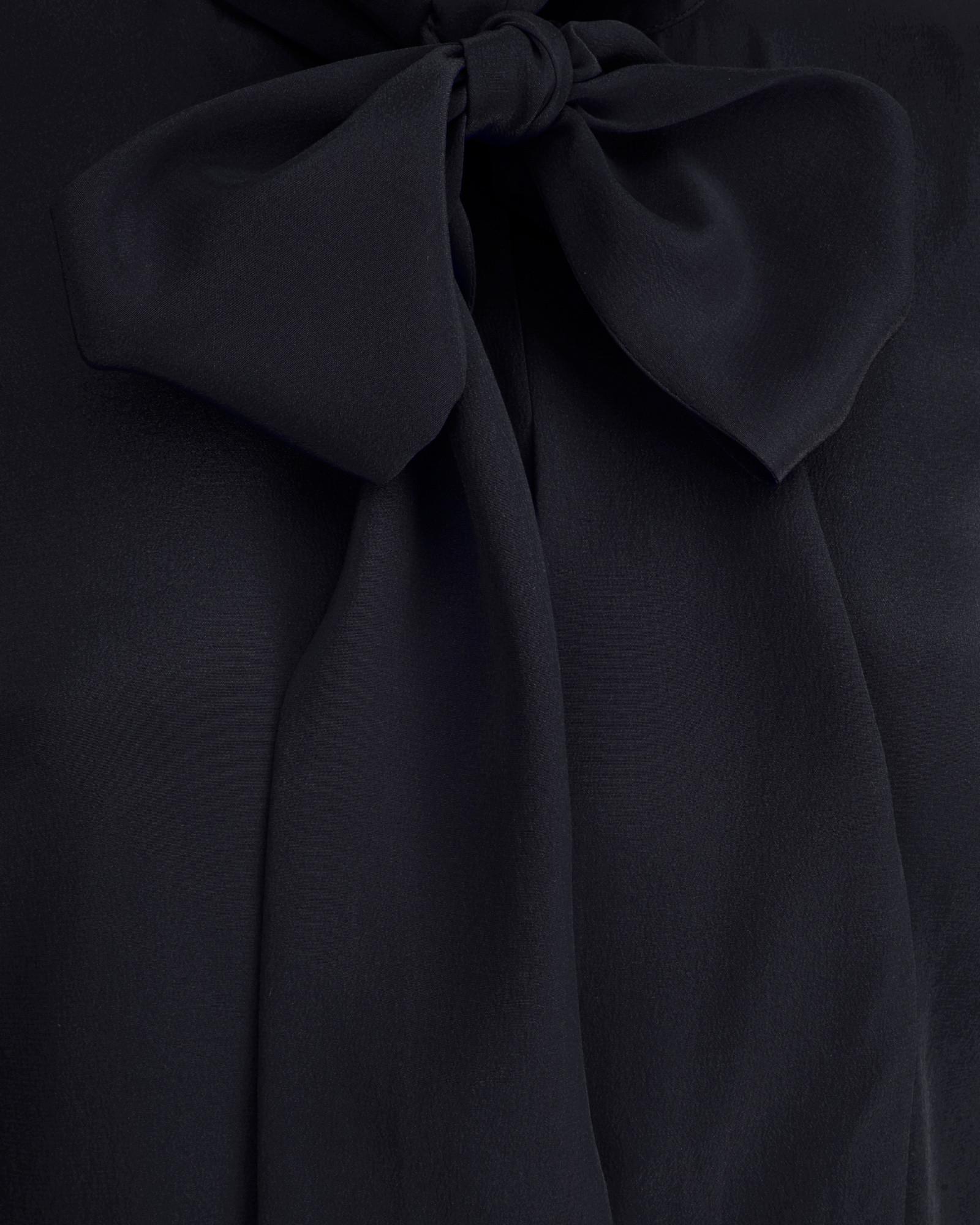 d96c7556b48 Ted Baker Yanka Silk Pussy-Bow Dress in Blue - Lyst