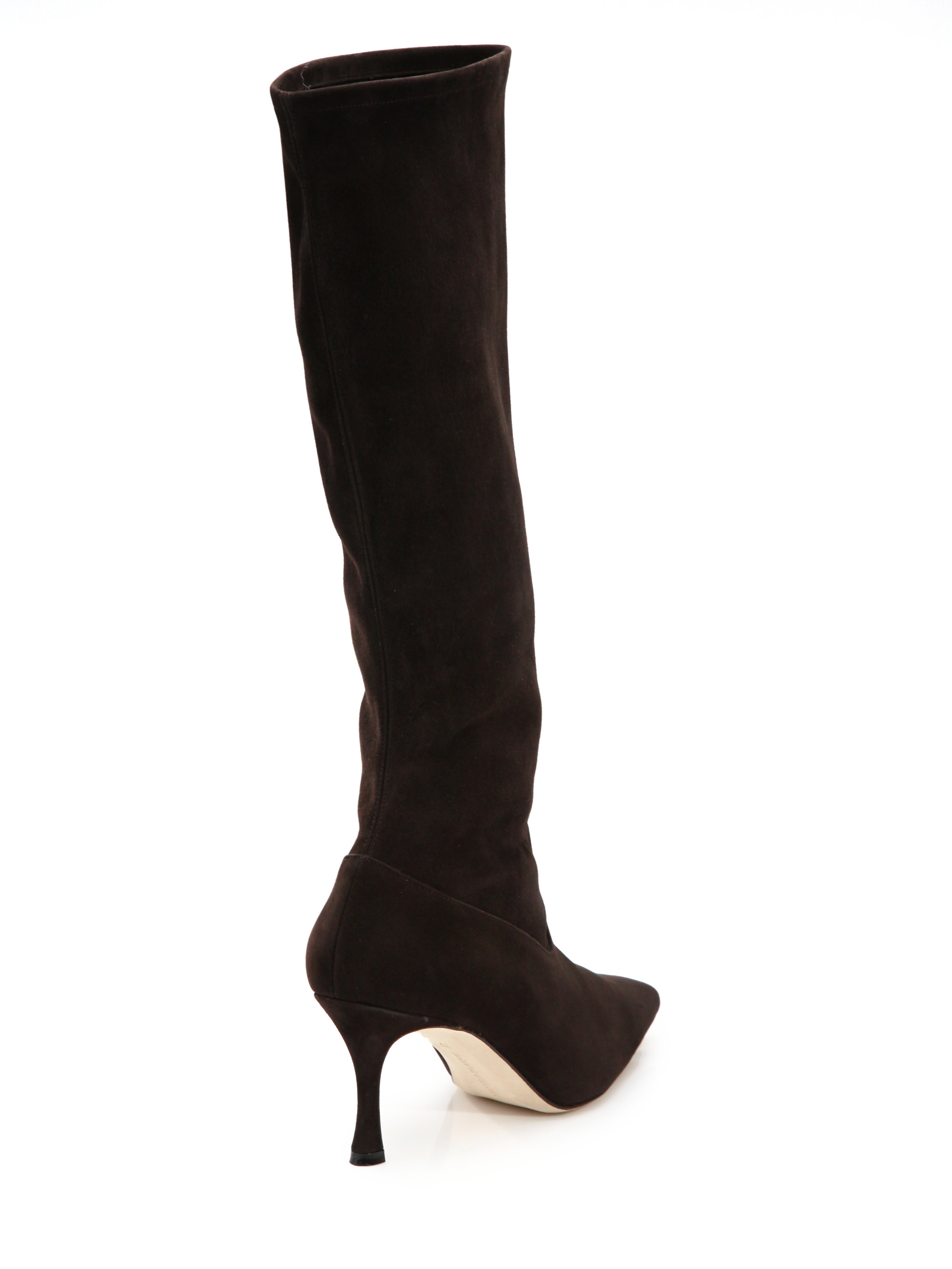 great deals for sale Manolo Blahnik Pascalare Knee-High Boots sale recommend Orange 100% Original prices cheap price clearance get to buy OZahVs