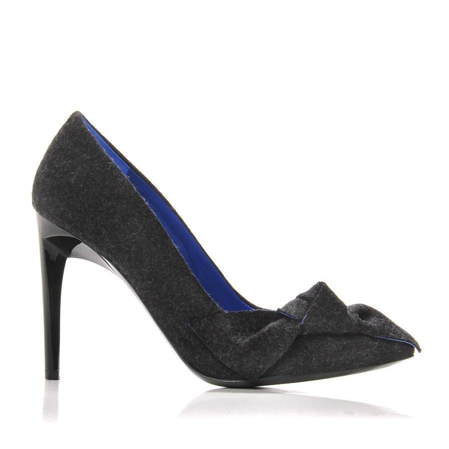Aldo Women Shoes Black Lacquered Heels