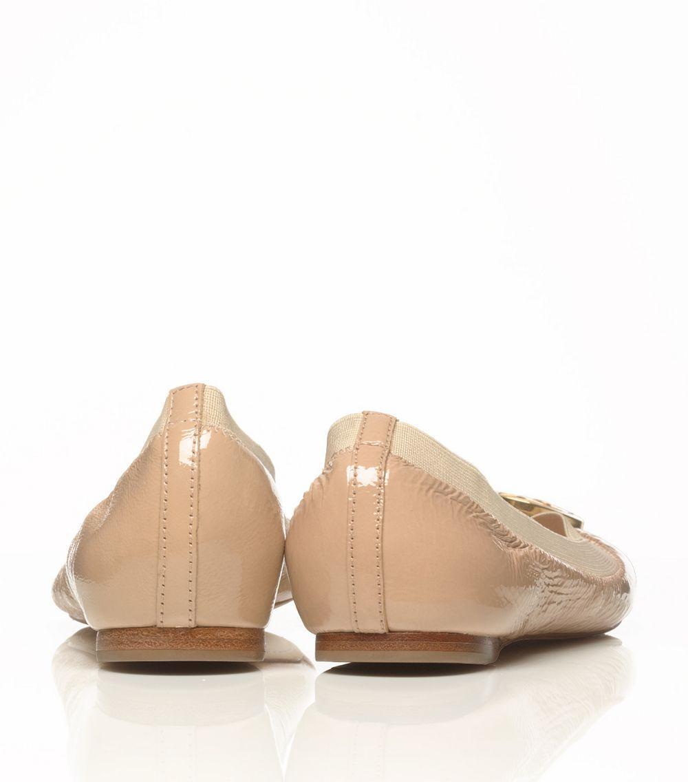 Caroline in ballet flats throat lift test shoot - 5 2