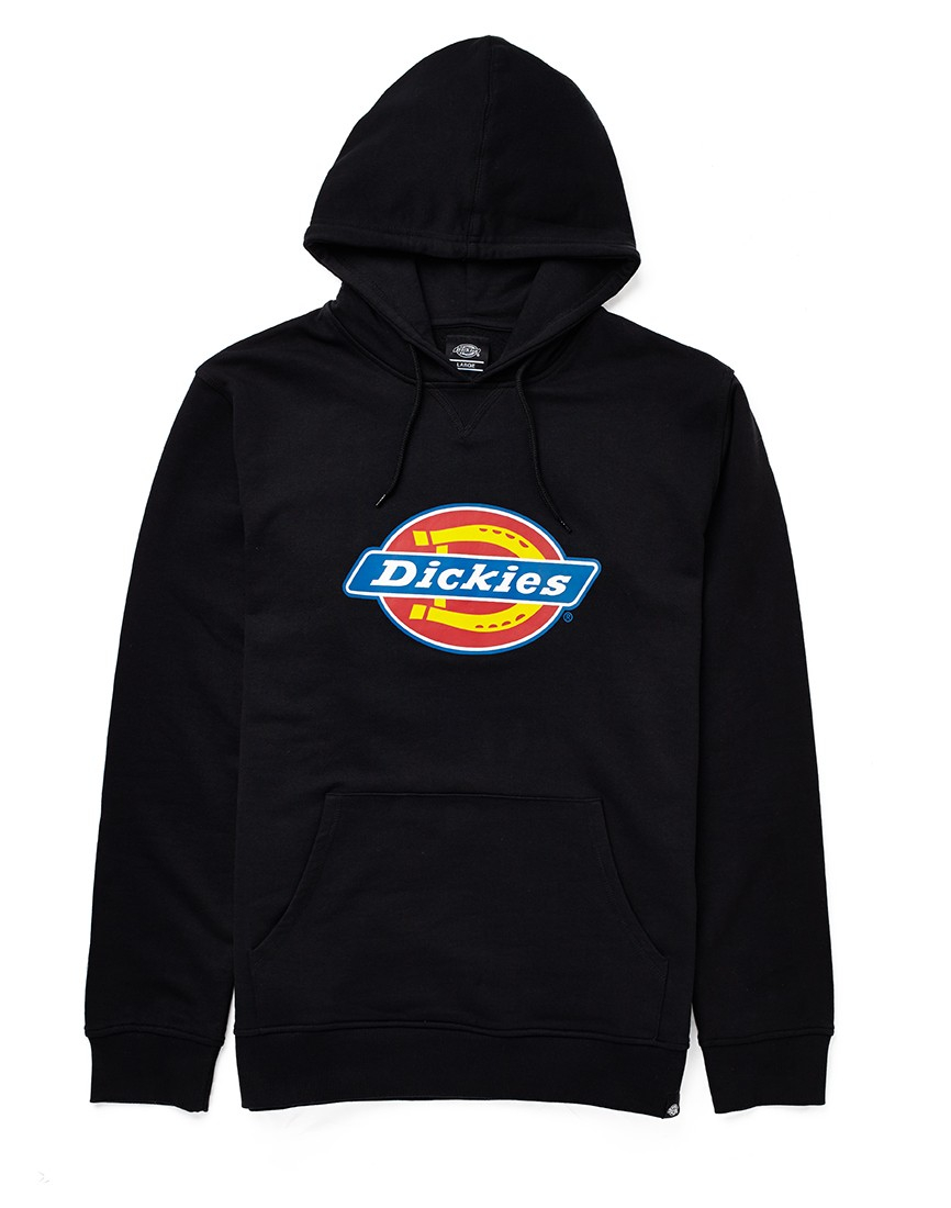 Dickies nevada hoodie in black for men lyst for Dickey shirts clothing co
