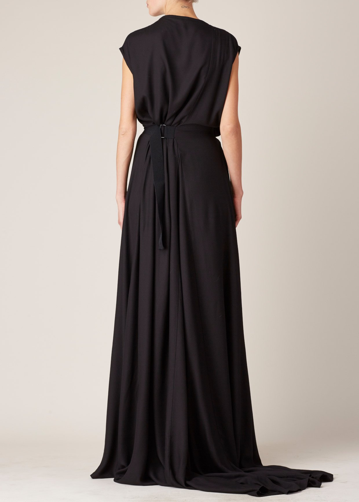 Lyst Ann Demeulemeester Black Infinity Dress In Black