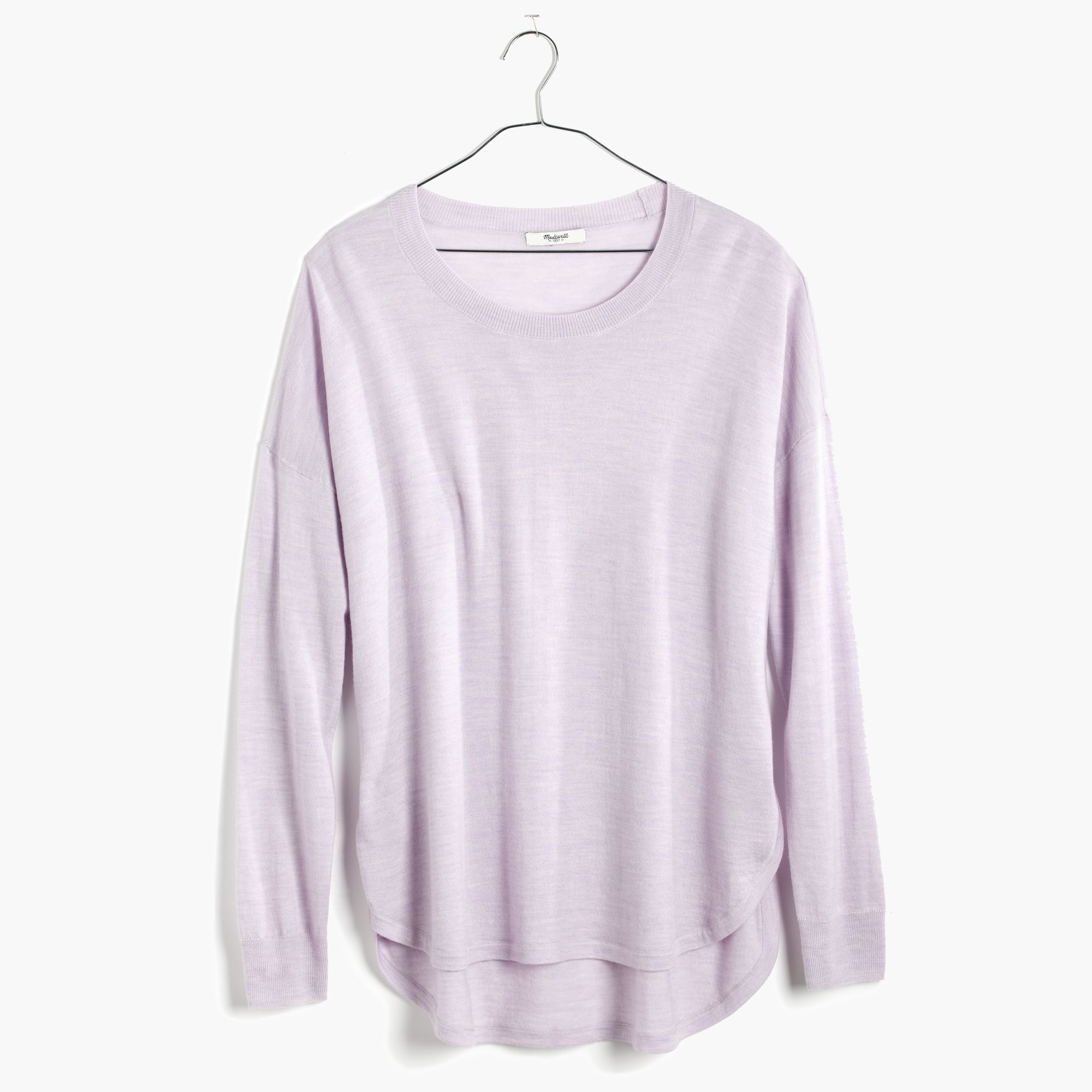 Madewell Northstar Pullover Sweater in Purple | Lyst