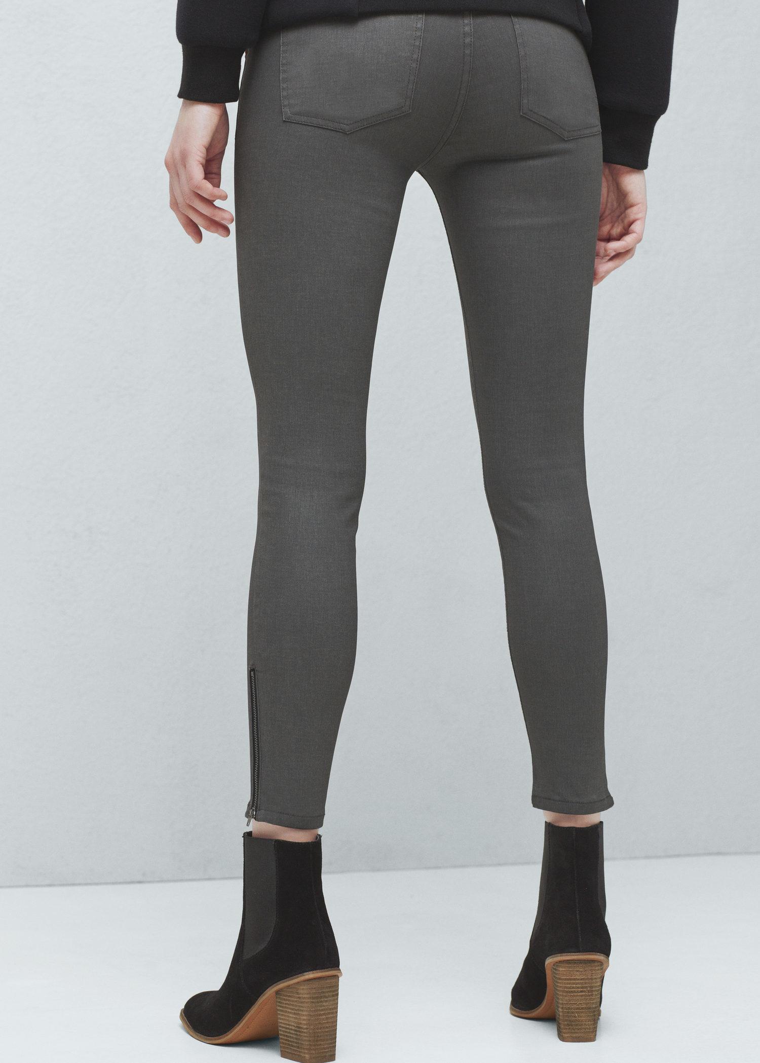 Mango skinny belle jeans grey