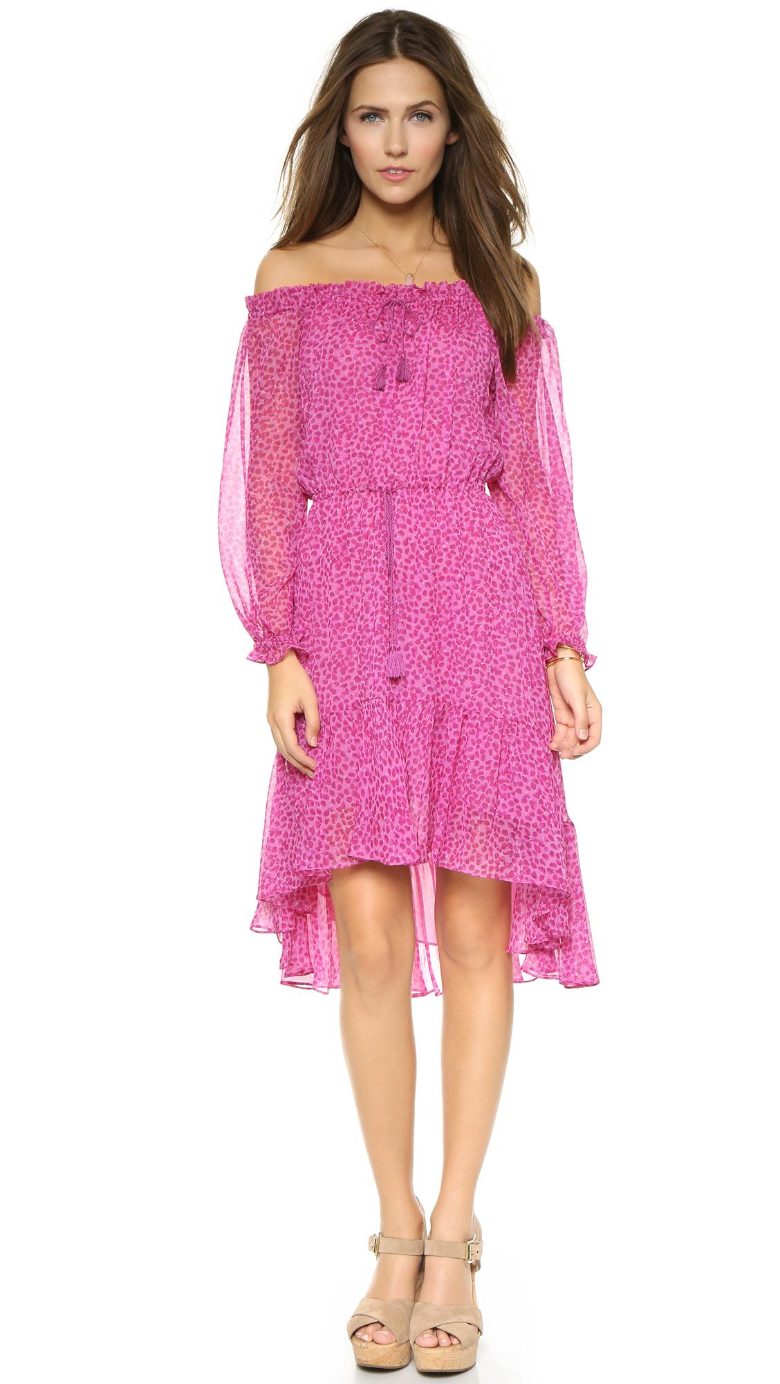 diane von furstenberg camila dress in pink petal dreams. Black Bedroom Furniture Sets. Home Design Ideas