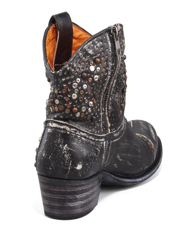 37d955babe22 Lyst - Frye Deborah Starstudded Ankle Boot