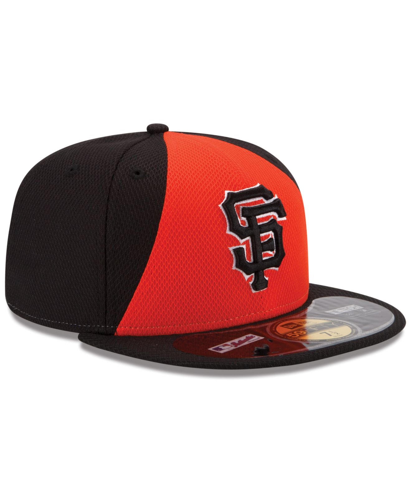 finest selection e4d21 277a9 KTZ San Francisco Giants 2014 All Star Game Patch 59Fifty Cap in Red ...