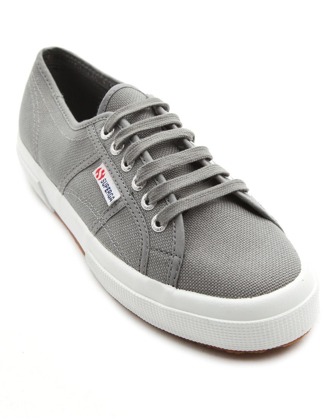 Superga: Superga Cotu Grey Sneakers In Gray For Men (grey)