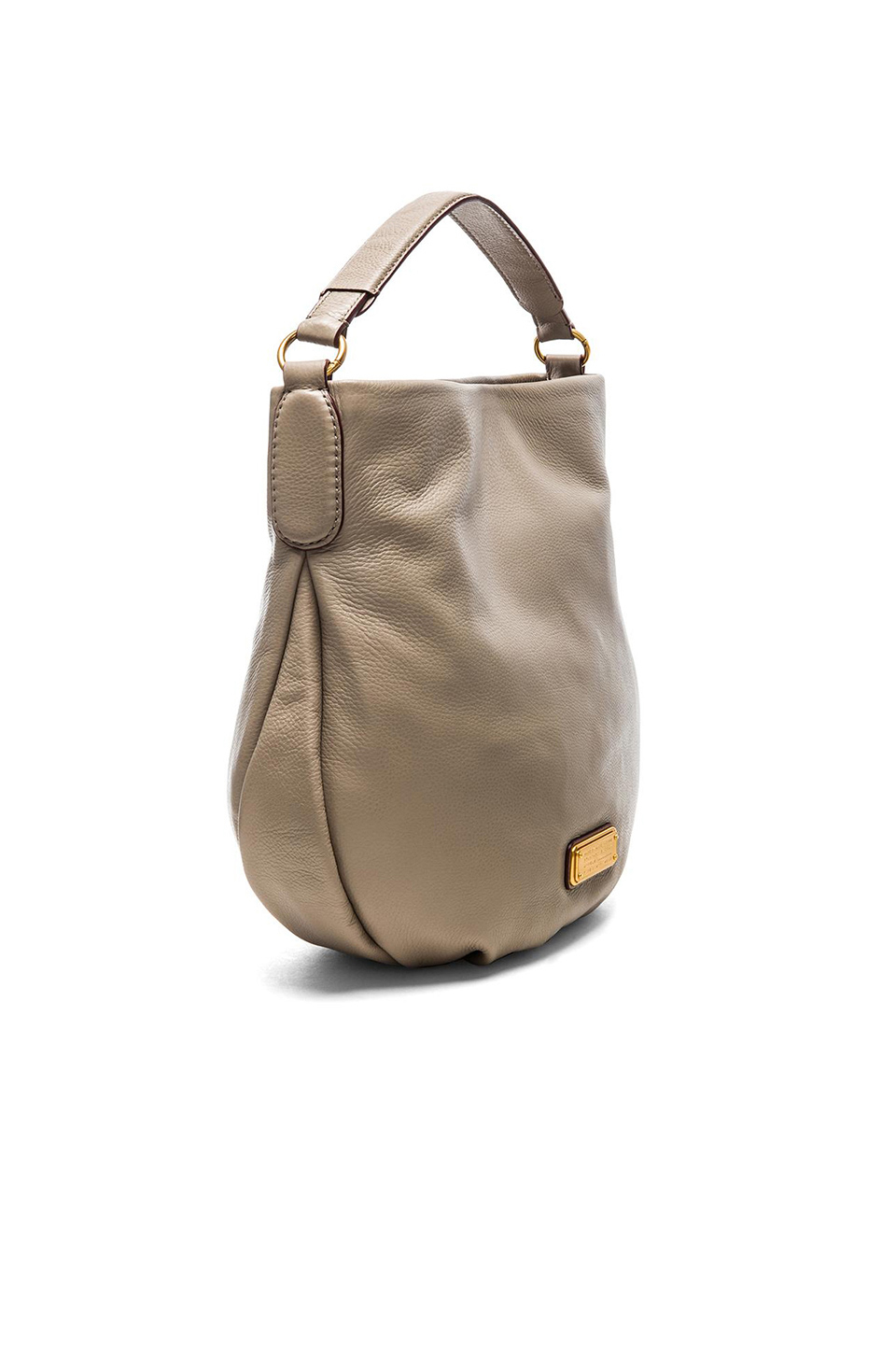 8ef22077e5bac Lyst - Marc By Marc Jacobs New Q Hillier Leather Hobo in Gray