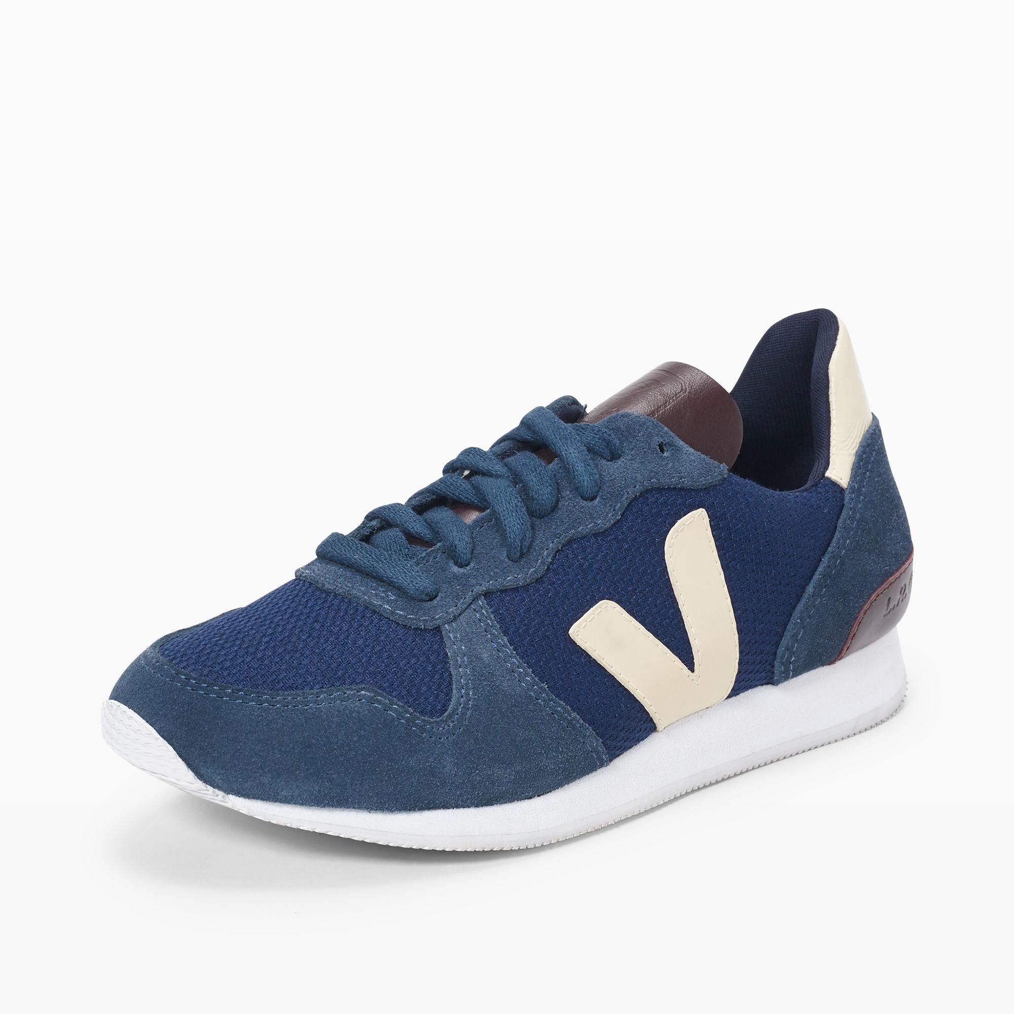 Lyst Club Monaco Veja Navy Sneaker In Blue