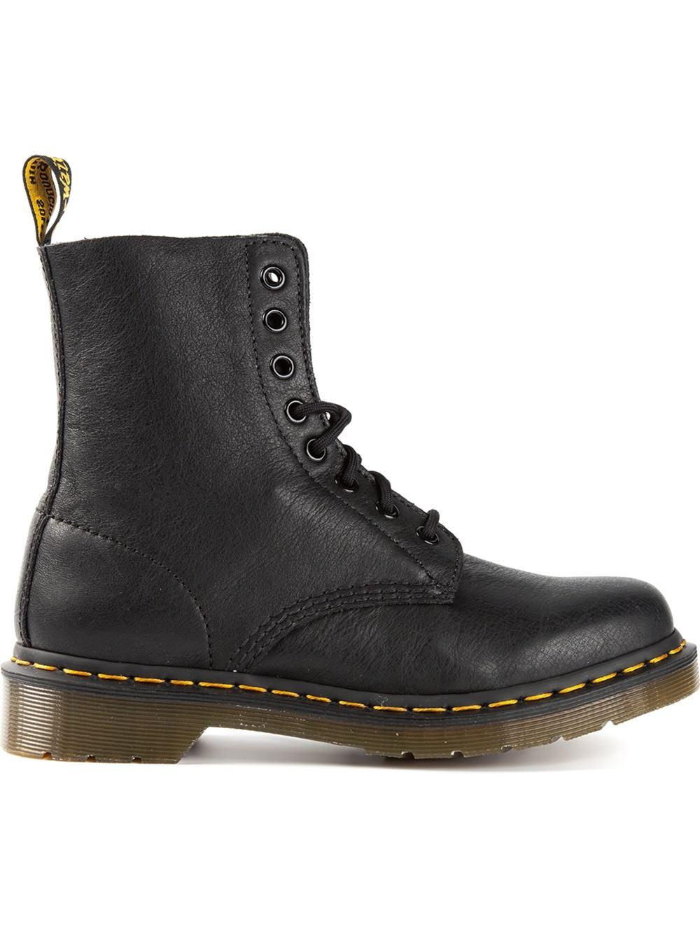 dr martens 1460 boots in black lyst. Black Bedroom Furniture Sets. Home Design Ideas