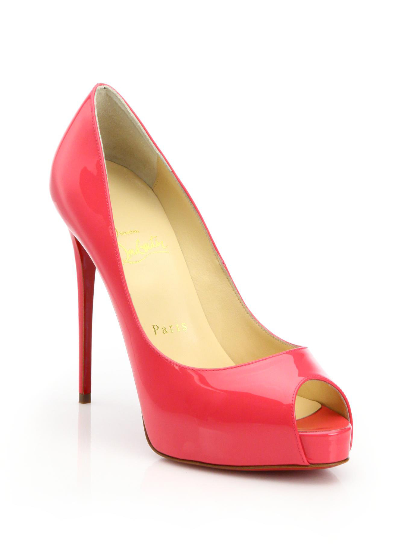 ae4ab65e8b96 Gallery. Previously sold at  Saks Fifth Avenue · Women s Christian  Louboutin Very Prive