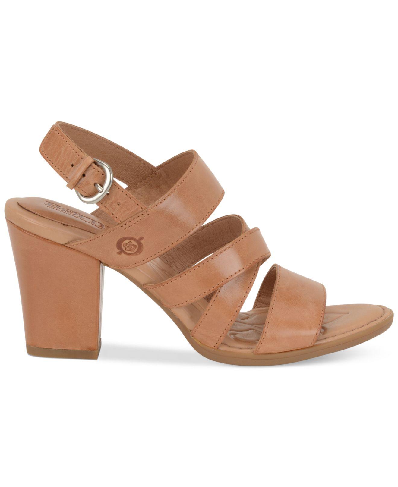 ae04dbc87af2 Lyst - Born Marylu Dress Sandals in Brown
