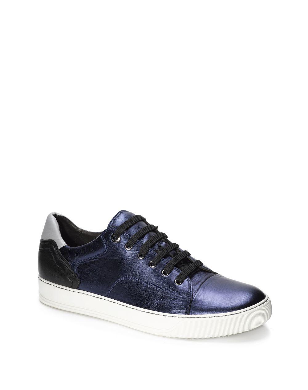 Lanvin Sneakers Métalliques - Bleu eSNDeJvZ8