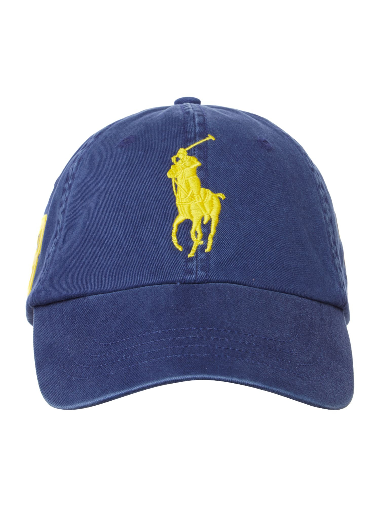 polo ralph lauren no3 polo pony logo cap in blue for men. Black Bedroom Furniture Sets. Home Design Ideas