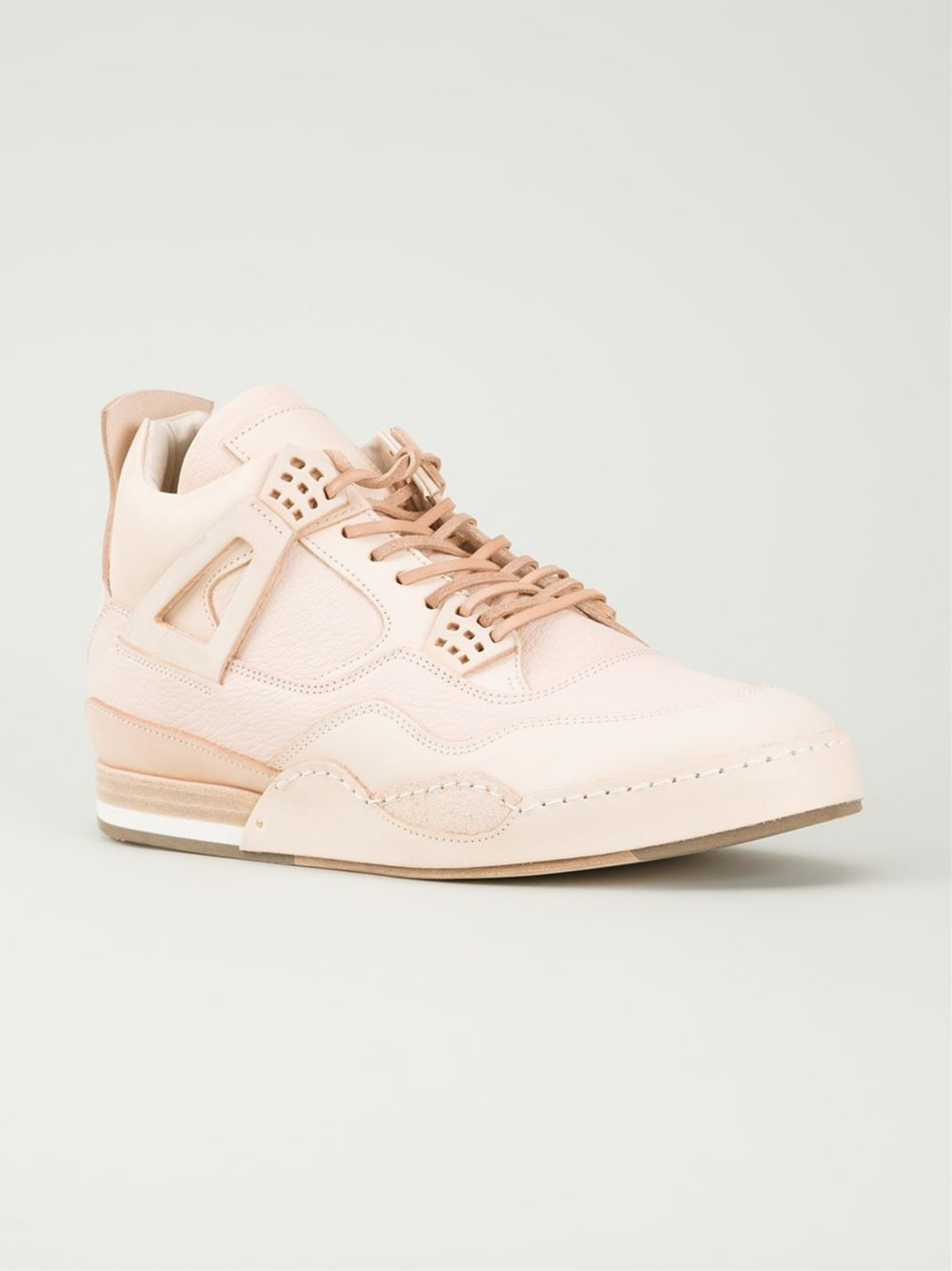 MIP-10 Leather Sneakers - Nude & Neutrals HENDER SCHEME L8HKCQOEGE
