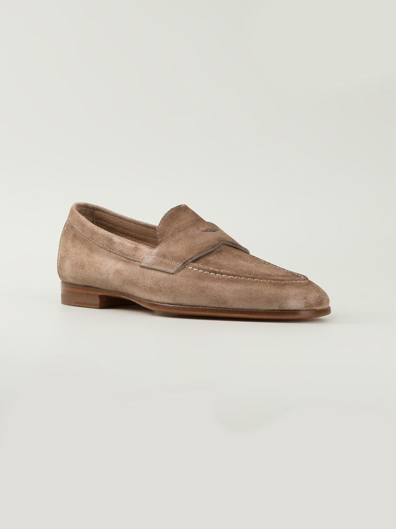tassel detail studded slipslippers - Nude & Neutrals Santoni yOQHlUycCQ