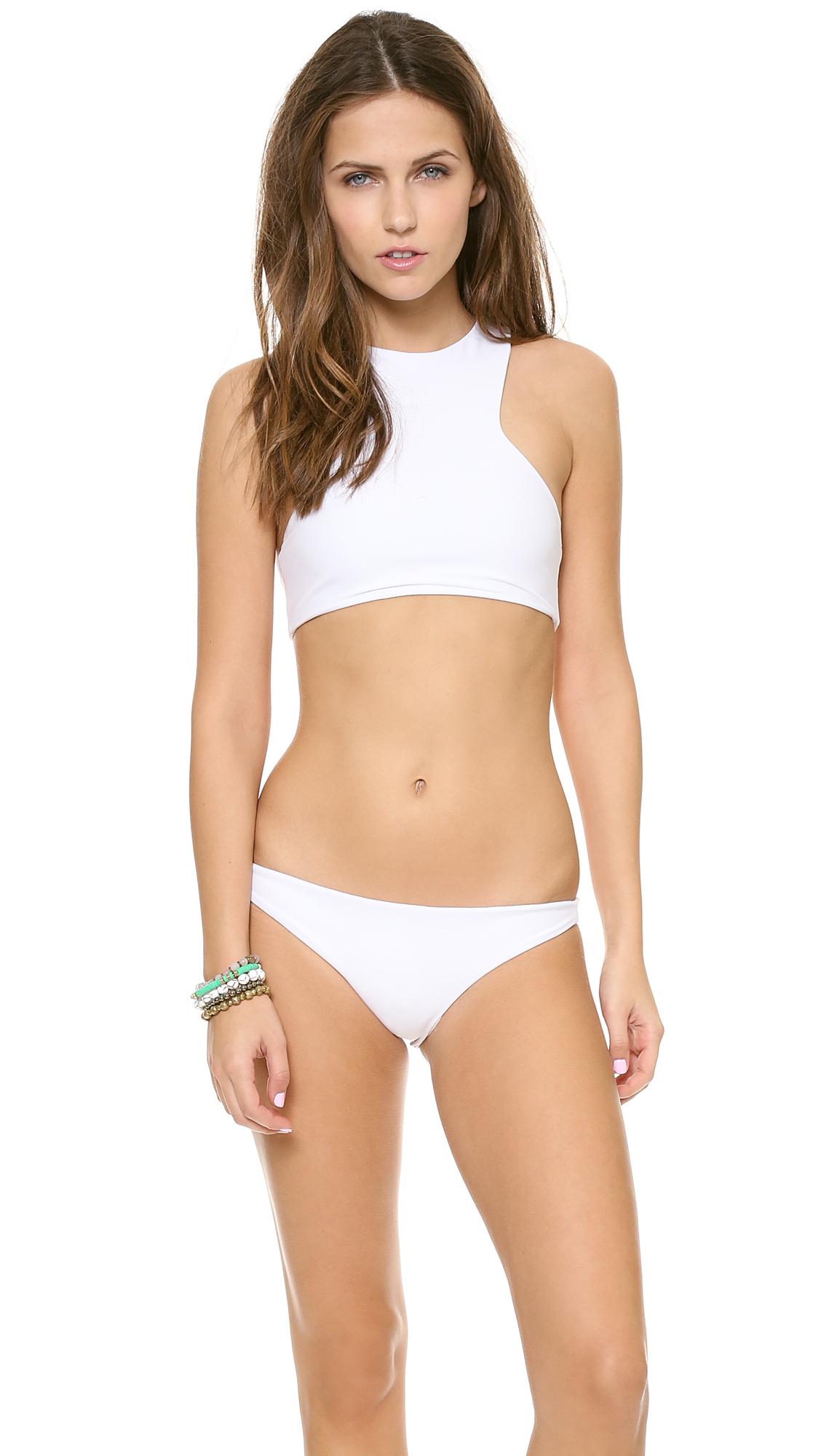 Back bikini swimsuit