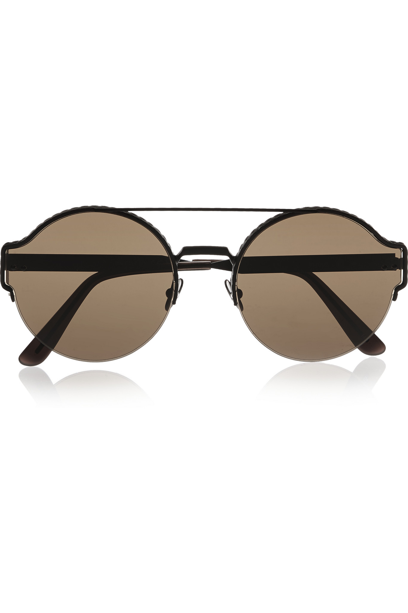 Bottega Veneta Round frame sunglasses QuhsFC