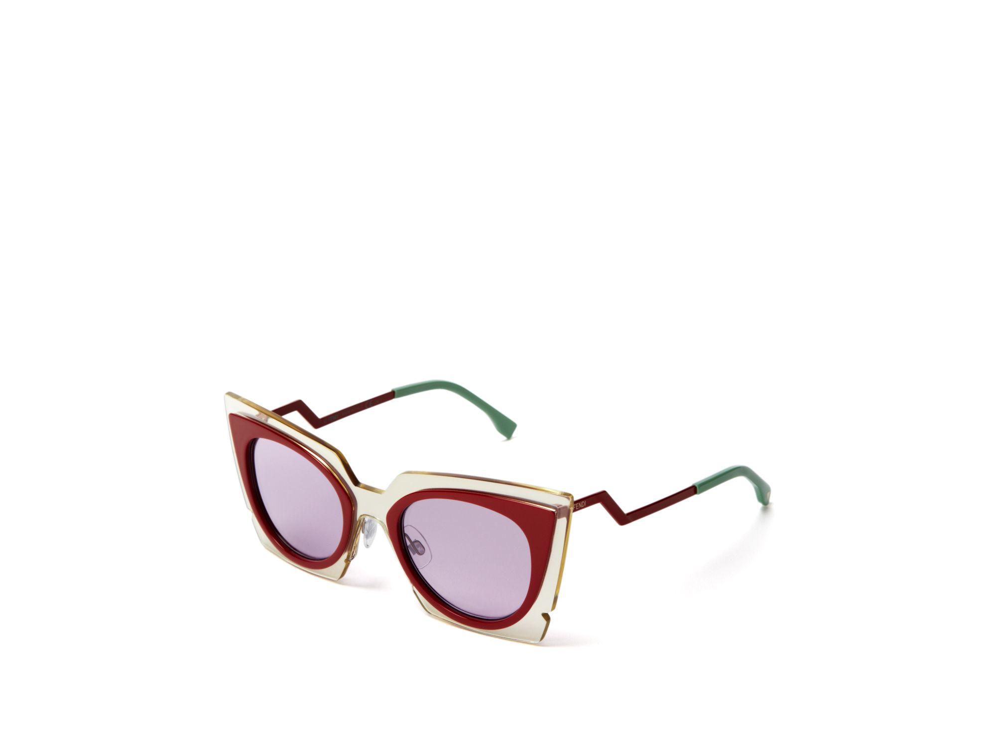 70e465ce18 49mm Eye Lyst Sunglasses Cat Oversized In Fendi Red 4qxn8X7