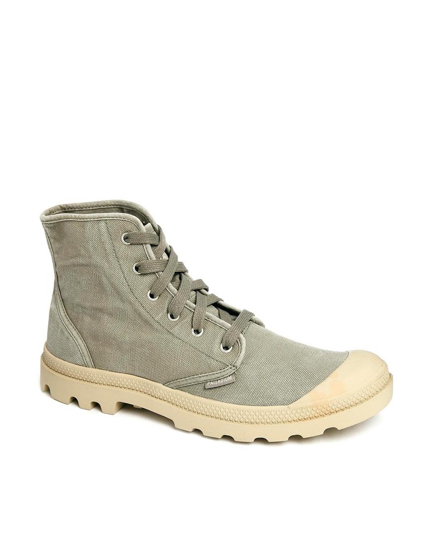 Simple Palladium Women39s Baggy Dark Grey Leather Boots Designer Footwear