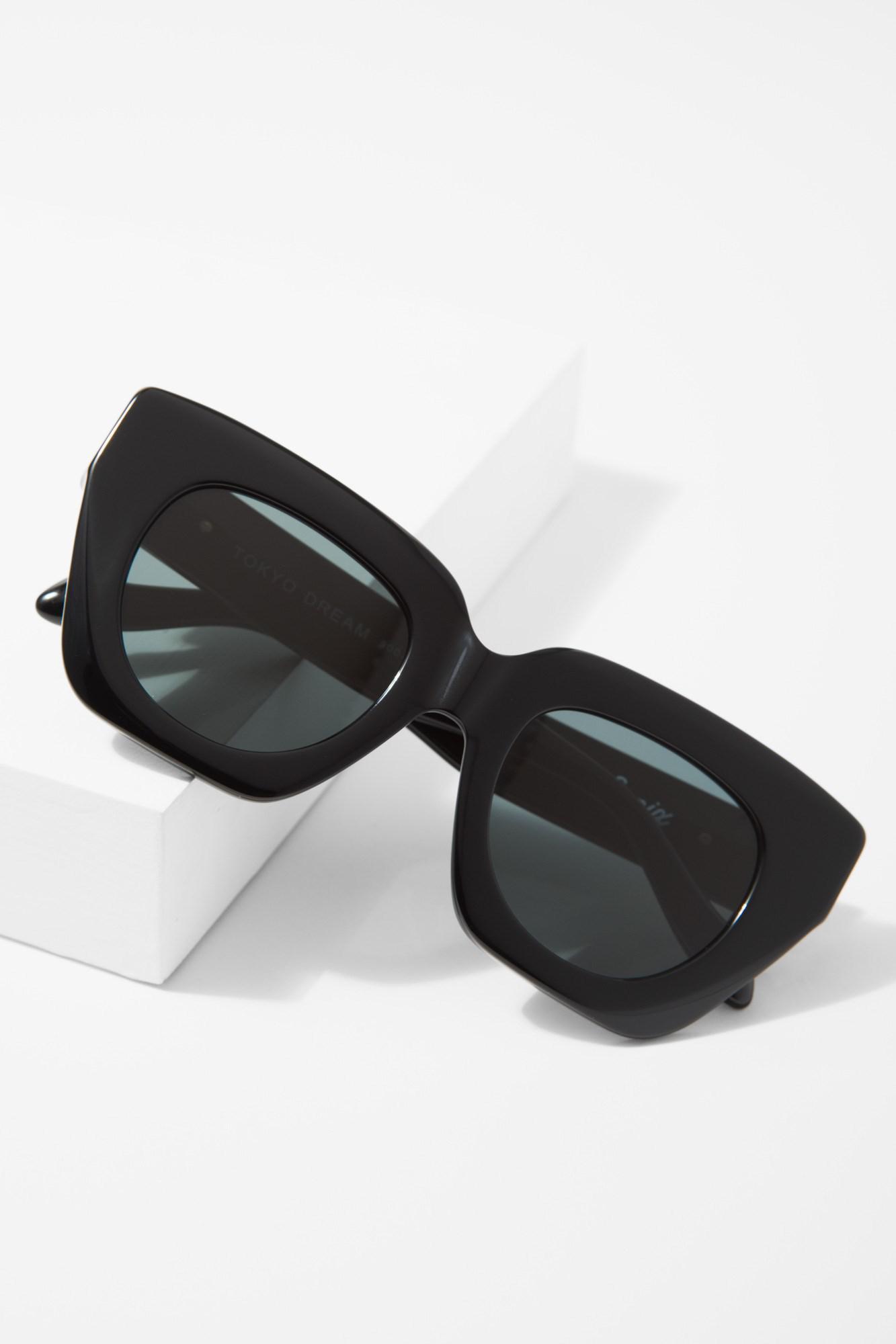 0b726b4f6854e Lyst - 7 For All Mankind Tokyo Dream Sunglasses In Black in Black