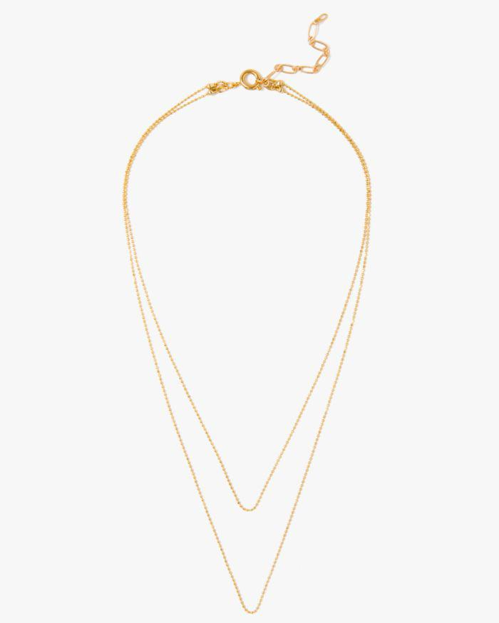 7 For All Mankind Five And Two Camille Necklace In Gold 1Ynwki