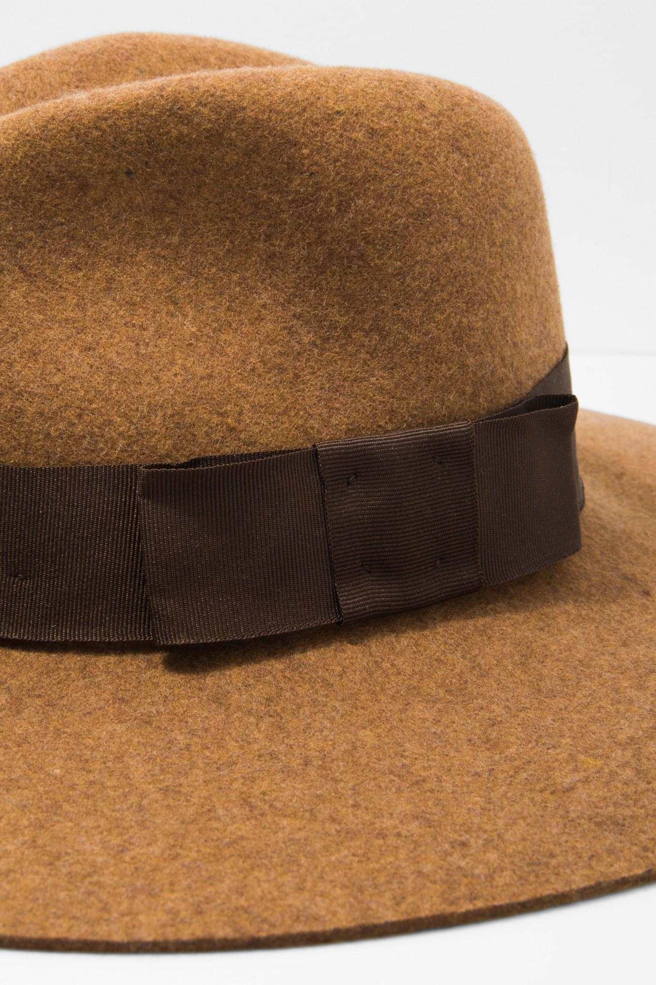 04c49607df4 Lyst - 7 For All Mankind Brixton Piper Hat In Heather Coffee in ...