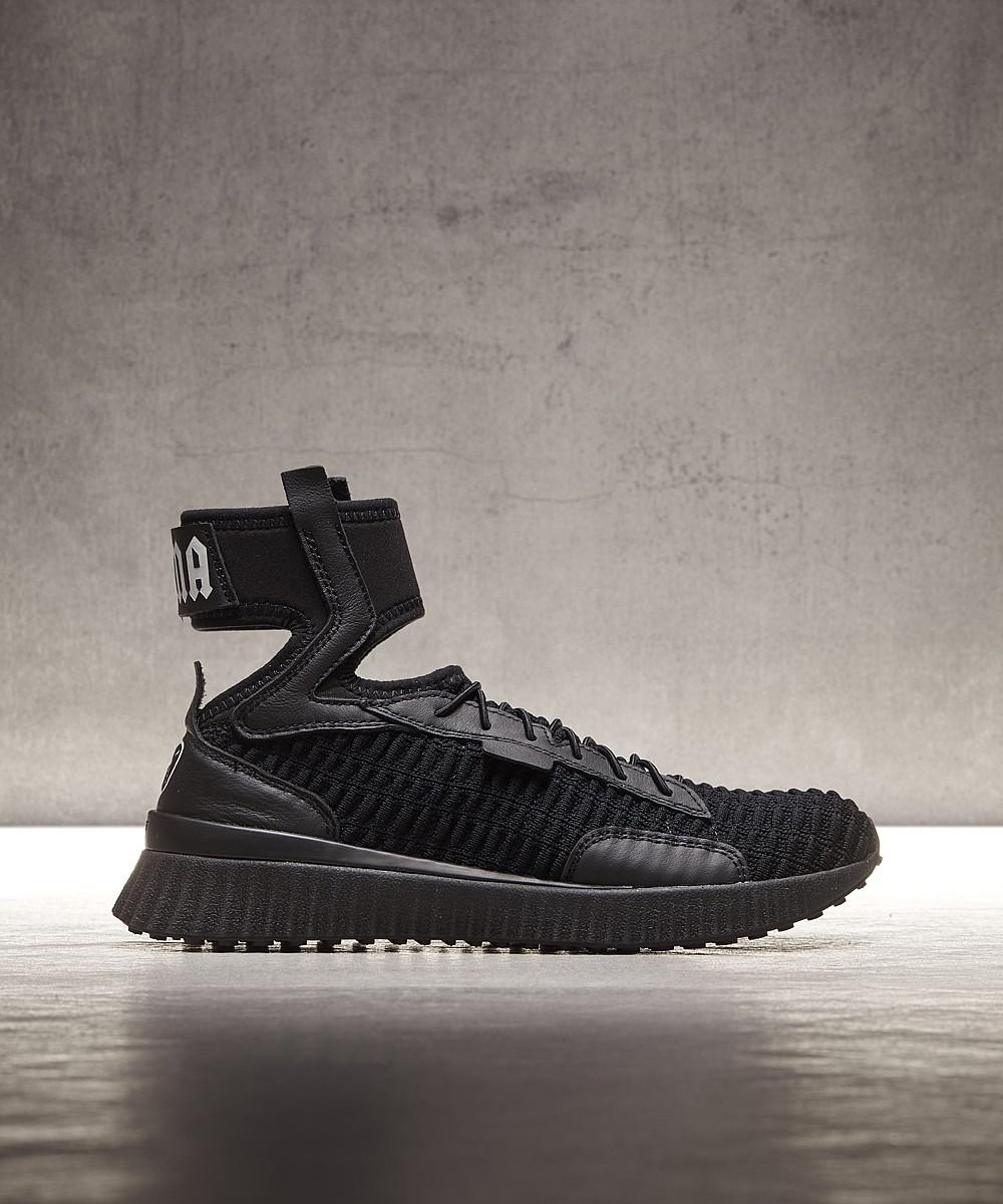 00b0caf46b35 Lyst - Puma Womens Fenty Mid Trainer in Black for Men