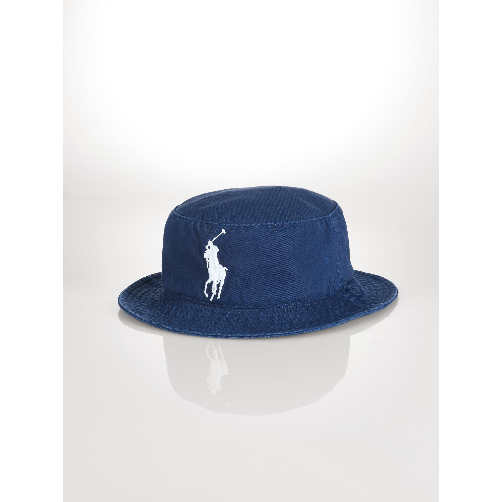 fddb3174626 Lyst - Polo Ralph Lauren Us Open Bucket Hat in Blue for Men