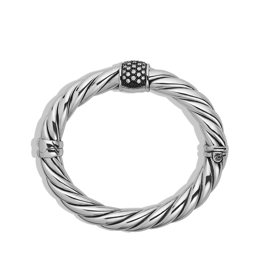 David yurman cable classics bracelet with diamonds in for David yurman like bracelets