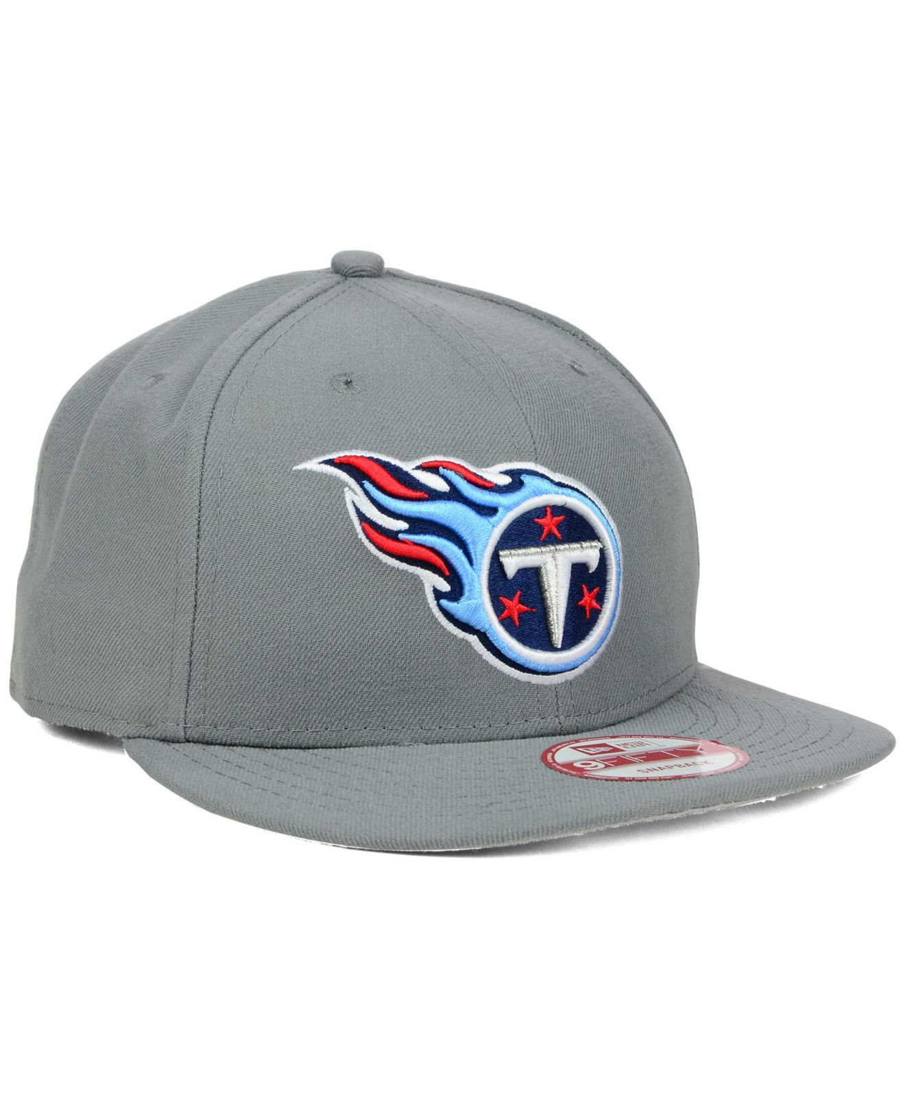 Ktz Tennessee Titans Storm 9Fifty Snapback Cap in Gray for Men ...