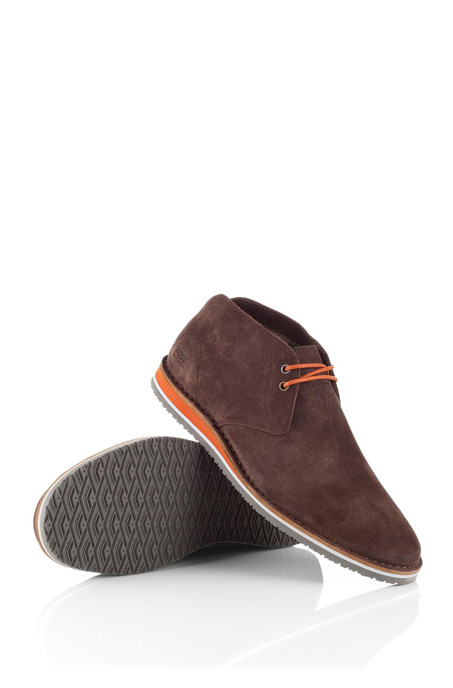 171b56306c0f BOSS Orange Suede Desert Boot Voluo in Brown for Men - Lyst