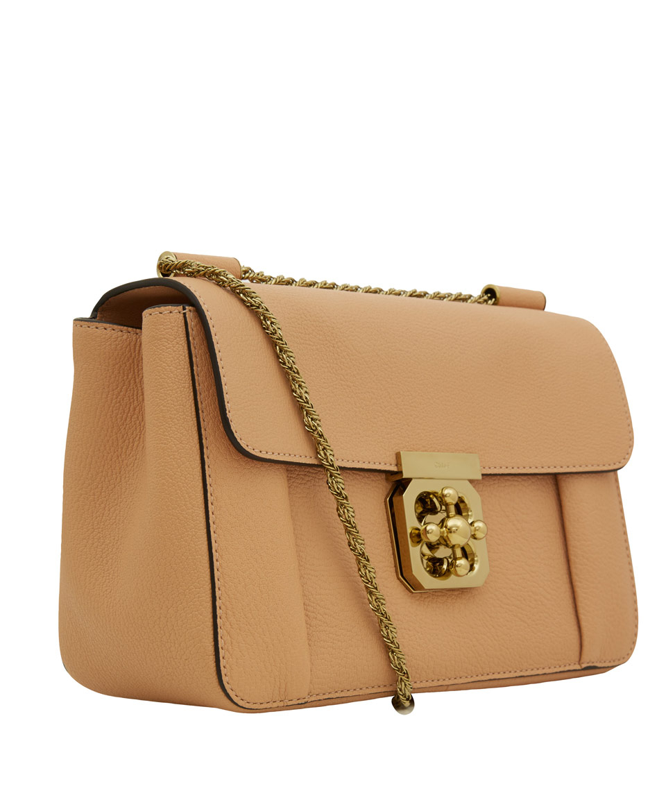 Chlo¨¦ Medium Taupe Elsie Shoulder Bag in Brown (taupe) | Lyst