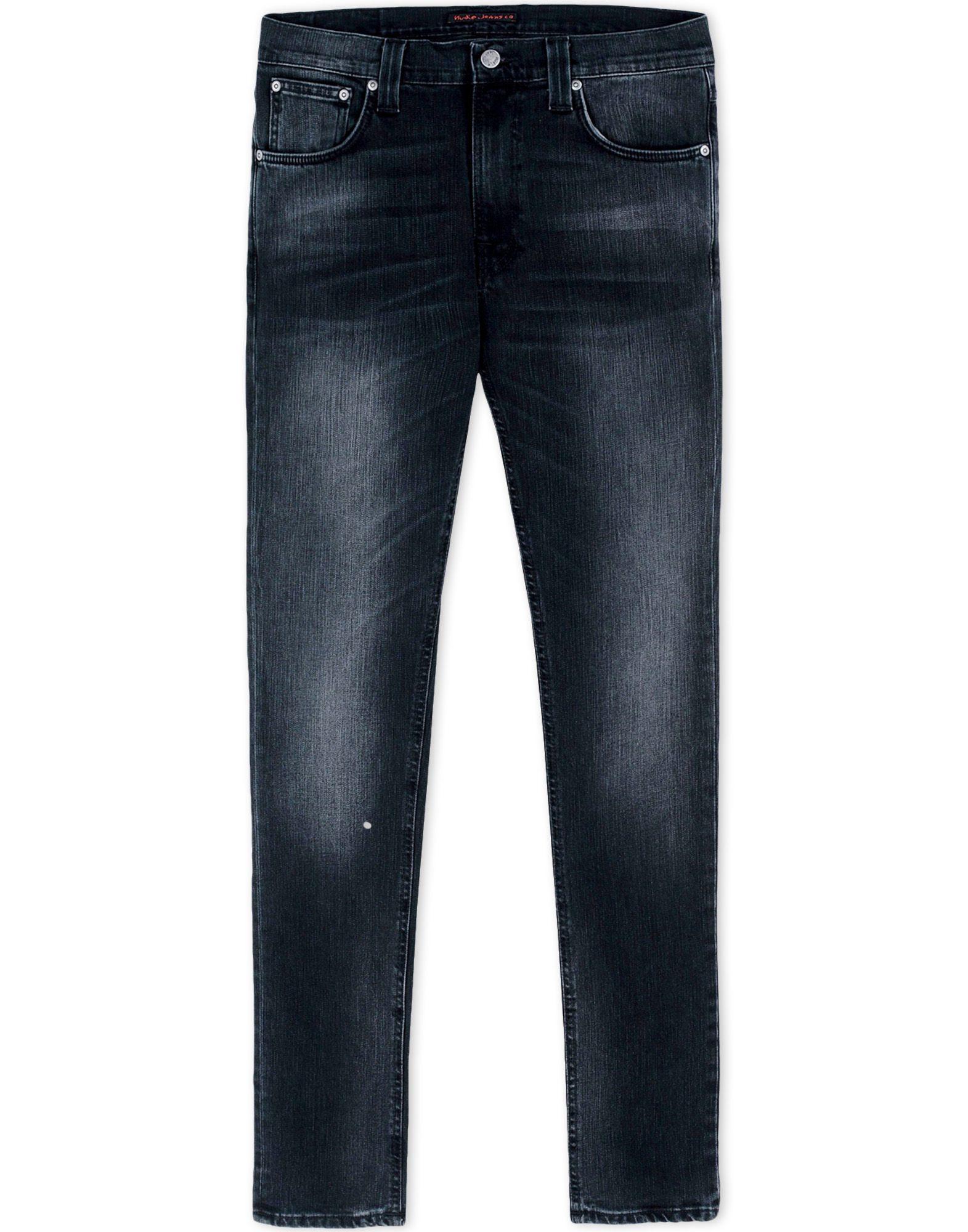 nudie jeans denim trousers in blue for men lyst. Black Bedroom Furniture Sets. Home Design Ideas