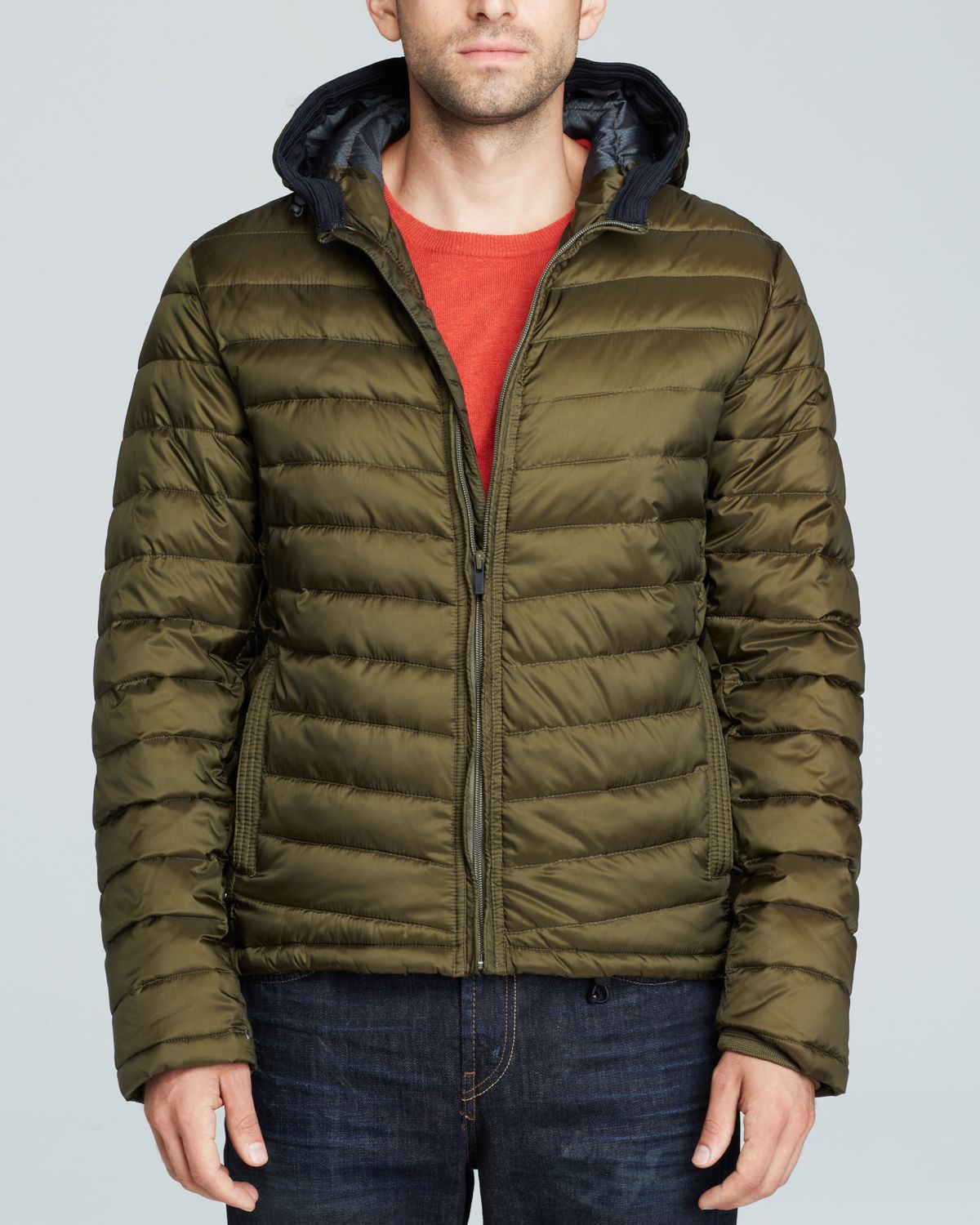 Mens Down Puffer Jacket Scotch & Soda Many Kinds Of TdADsseN