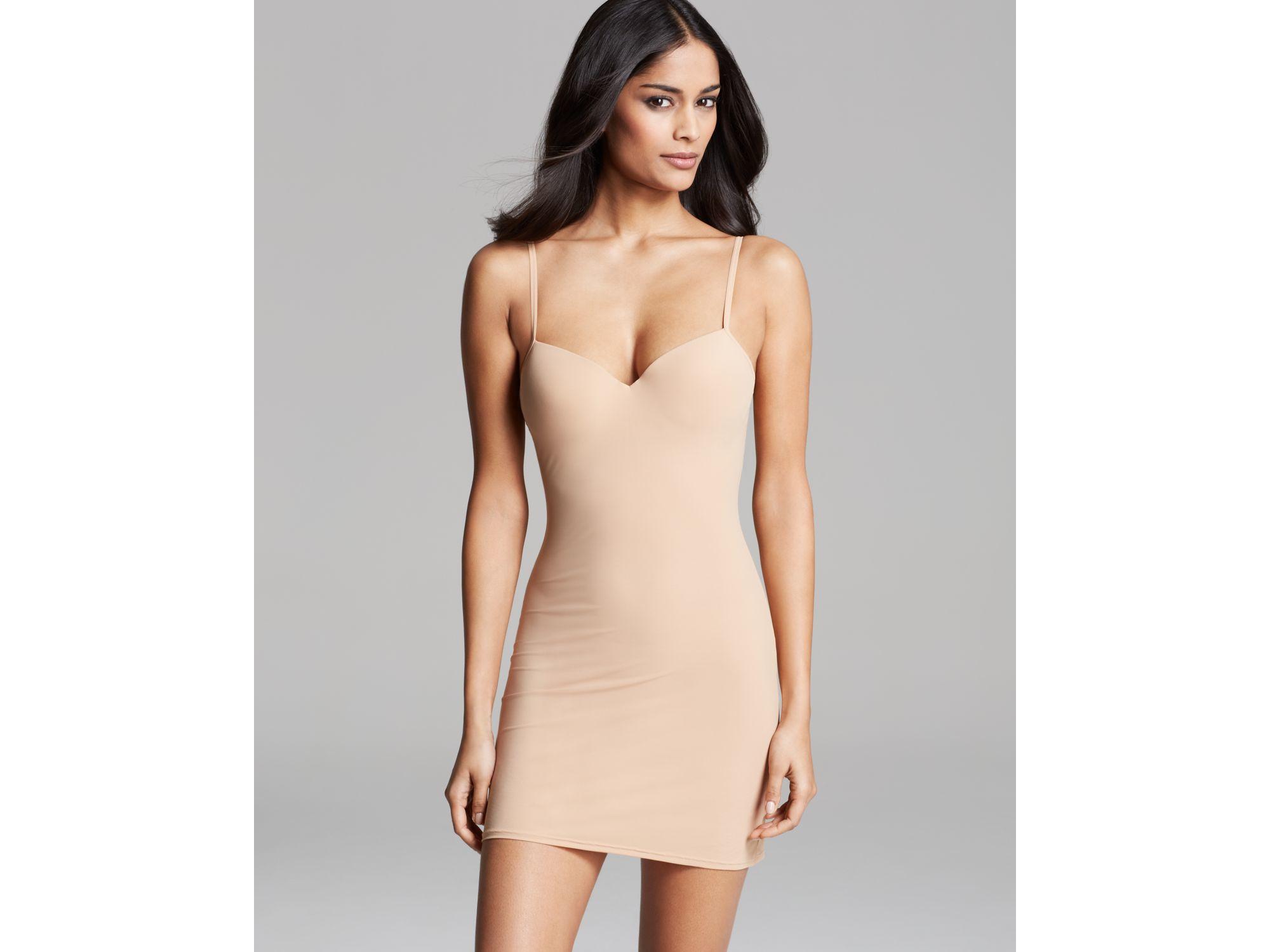 70f848de287c4 Lyst - Hanro Allure Bra Body Dress in Natural