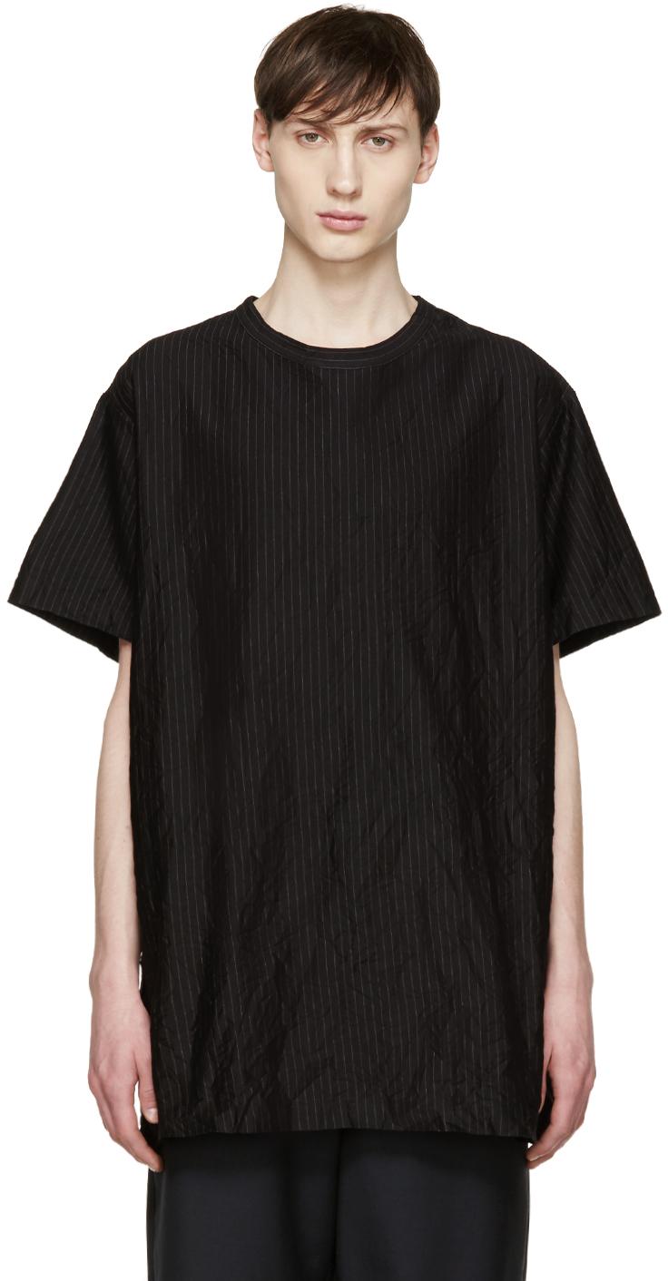 Oversized black t shirt - Gallery