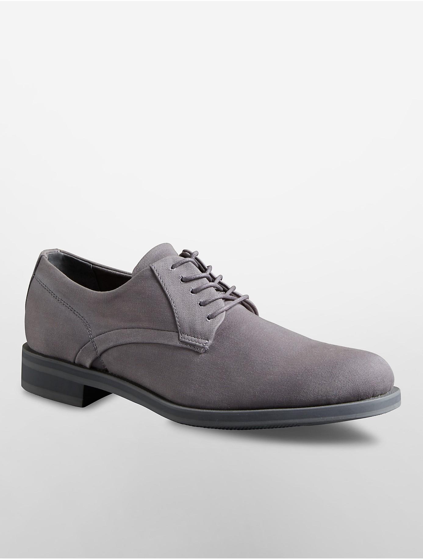 Lyst Calvin Klein Homer Oxford Shoe In Gray For Men