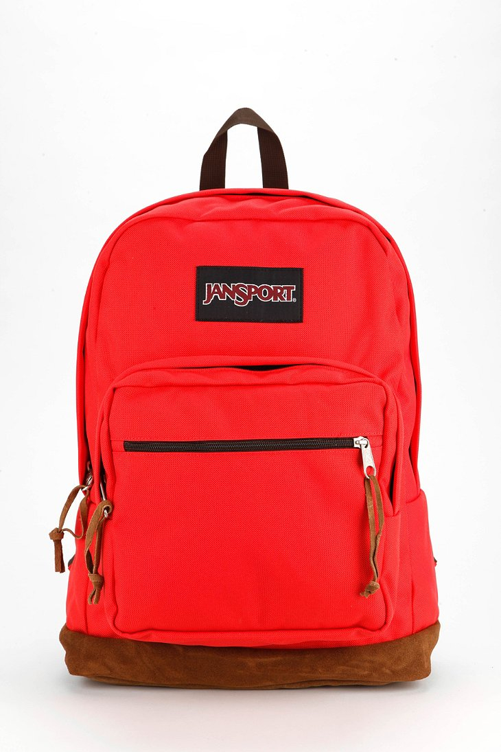 Jansport Right Pack Backpack in Red (CORAL) | Lyst