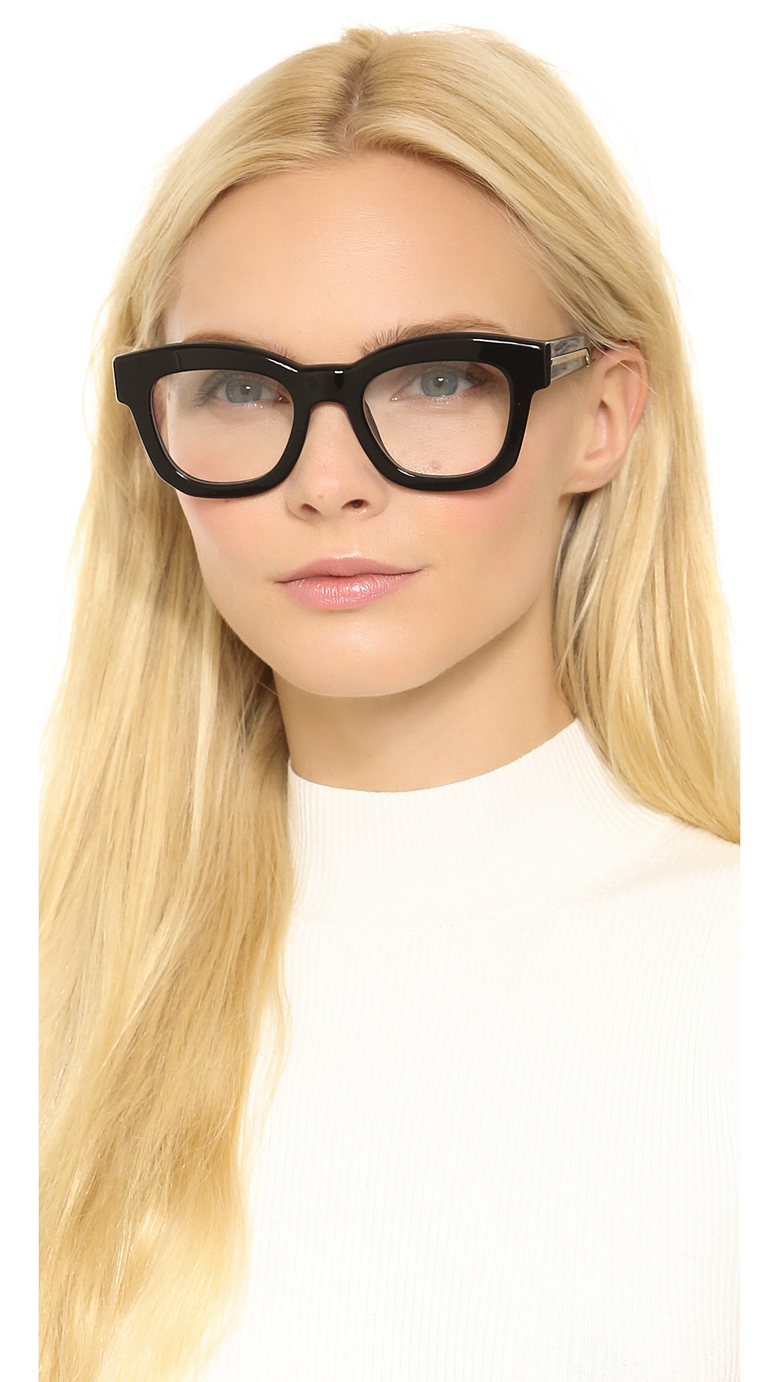 Lyst - Stella Mccartney Thick Frame Glasses