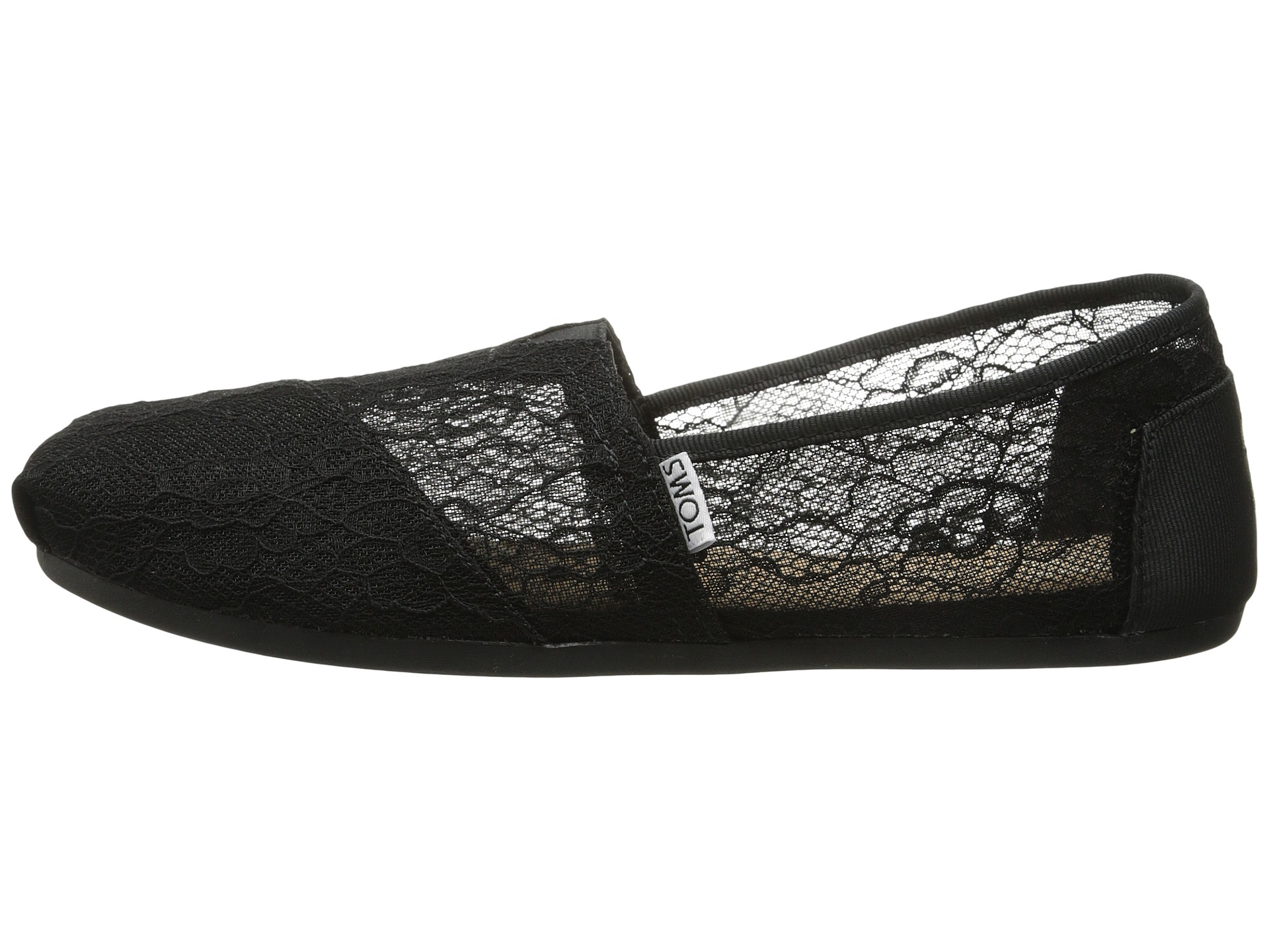 Toms Lace Shoes Black