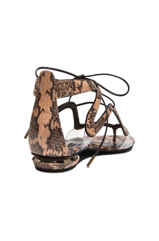 Nicholas Kirkwood Snakeskin Slide Sandals clearance shop offer sale outlet locations clearance online cheap real tjPoDeUTLG