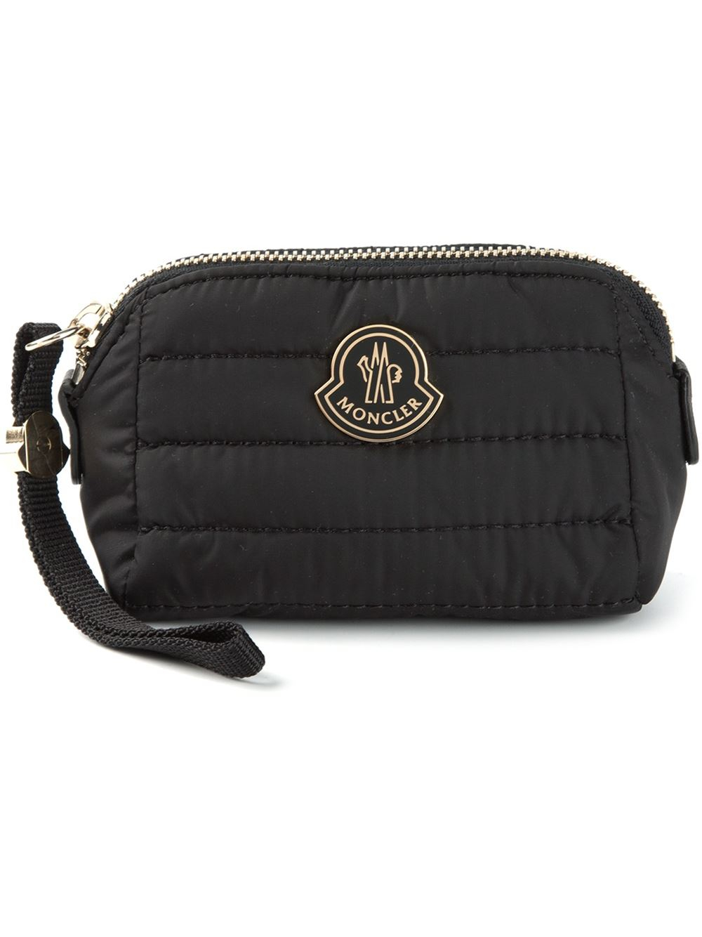 Bag At You Fashion Blog Hip E Bags White Backpack: Moncler Quilted Wash Bag In Black