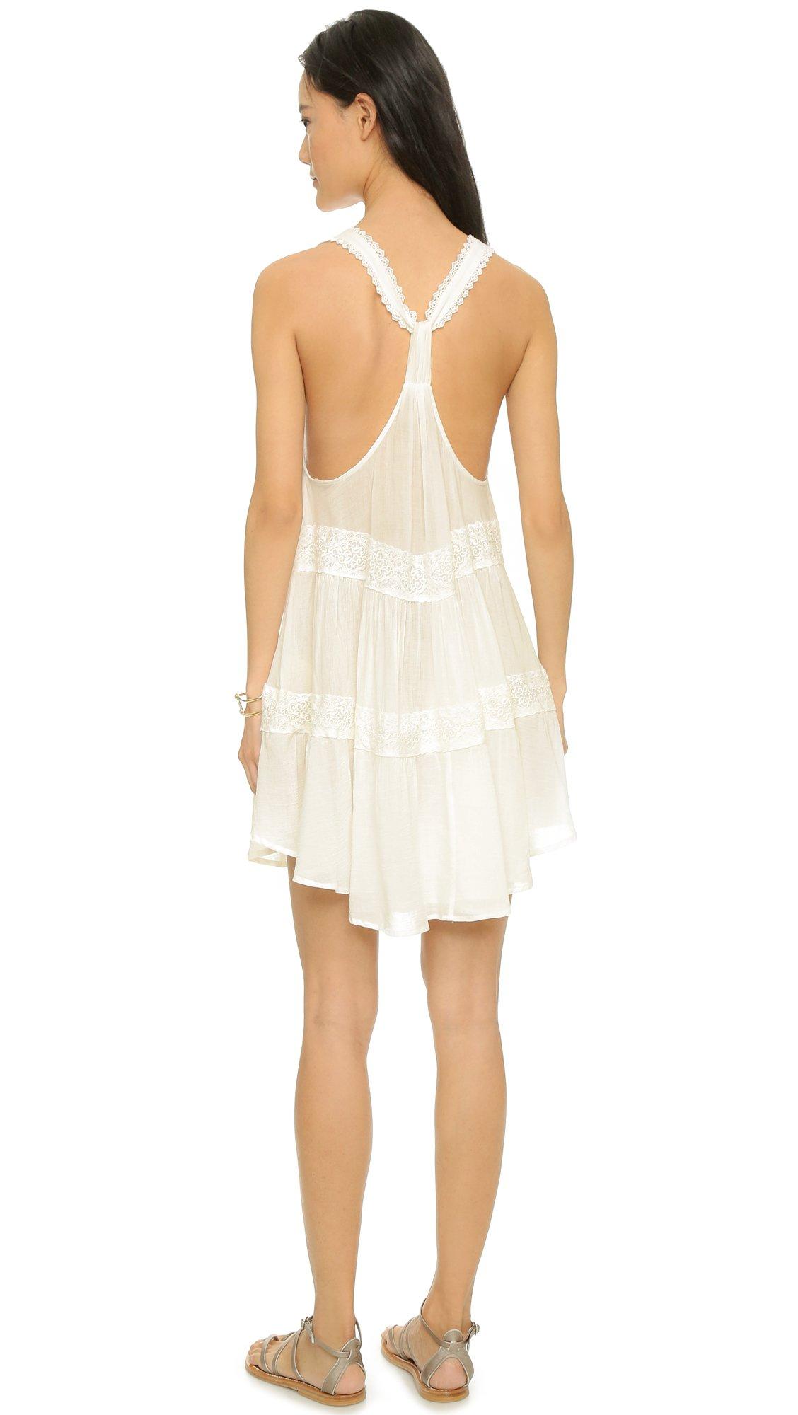 Spell Savannah Sun Dress White In White Lyst