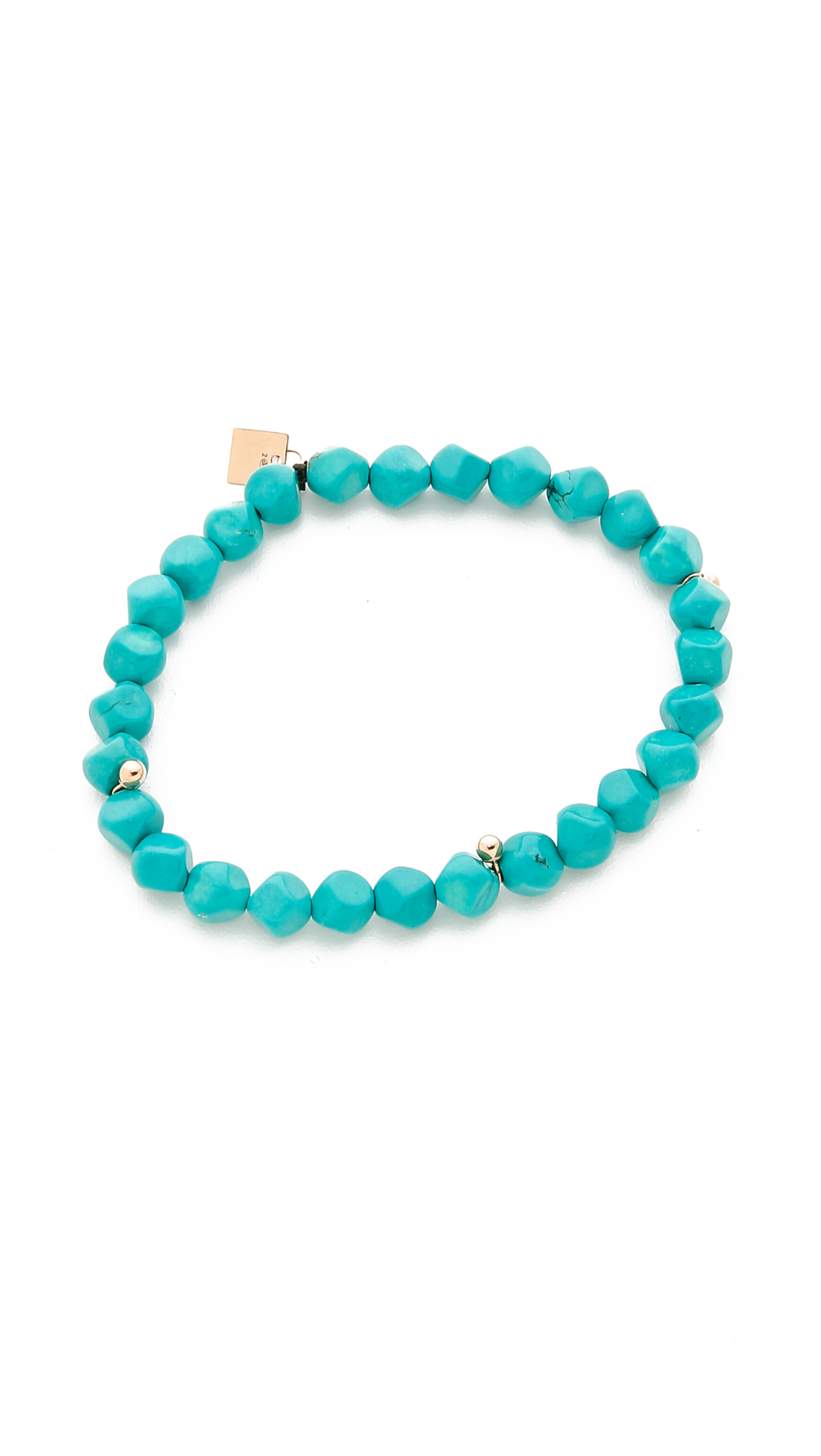ginette ny fallen sky bracelet in teal turquoise lyst