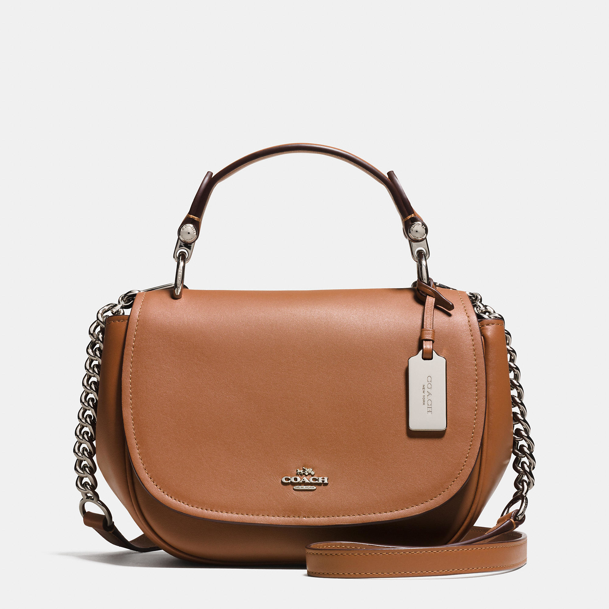 Coach Nomad Top Handle Crossbody In Glovetanned Leather In