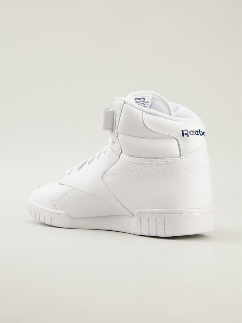 5b56468f548c Reebok  ex-o-fit  Hi-top Sneakers in White for Men - Lyst